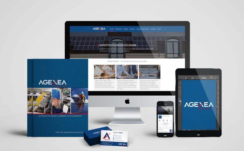 Création site web pour une entreprise de génie énergétique