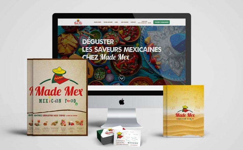 création le site e-commerce, restaurent