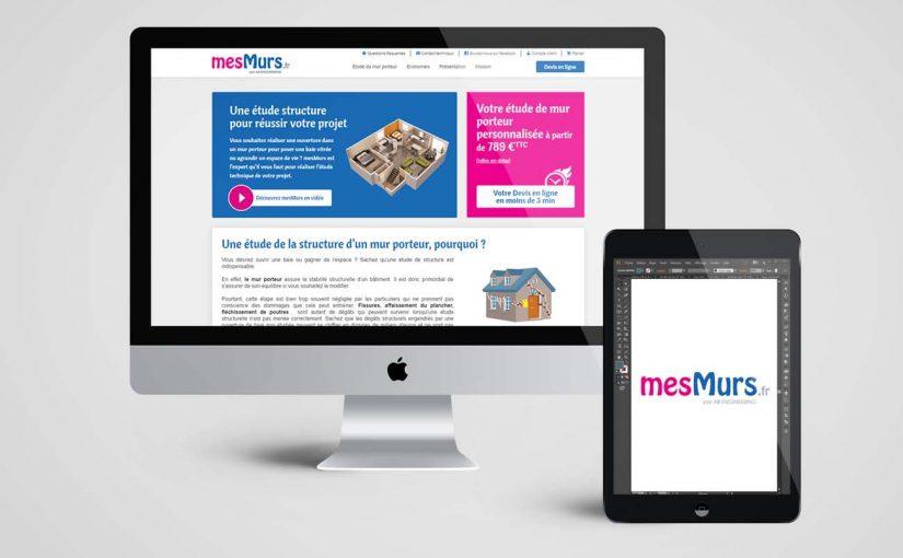 Création site internet pour une société d'ouverture de mur porteur