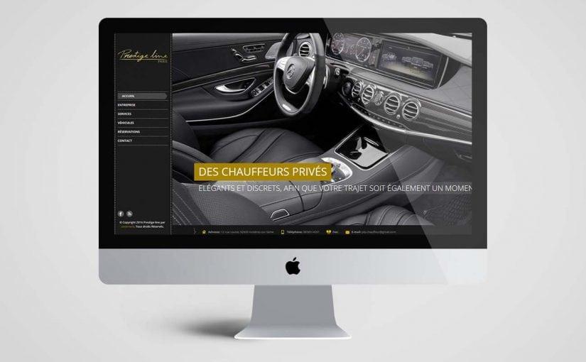 création site web véhicules, garage