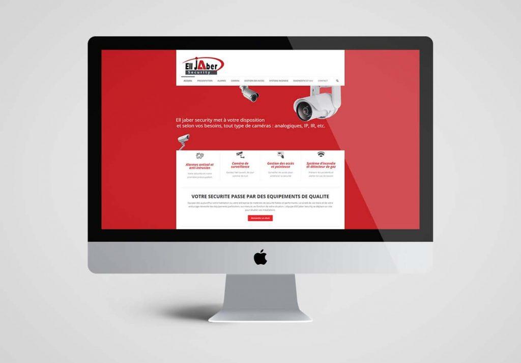 Création site internet pour société sécurité électronique - Ajoo ... f54a8baaffda