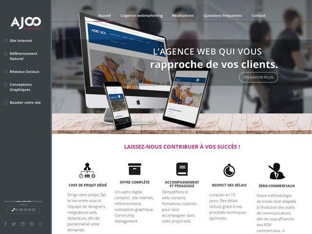 plan du site - Ajoo Agence Web b44845dc6cf0