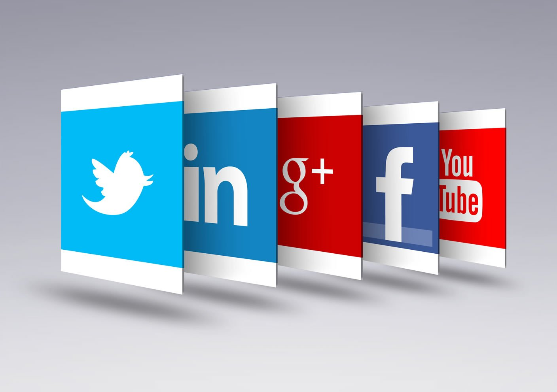 Réseaux-sociaux, tweeter, Facebook, Google+, Youtube