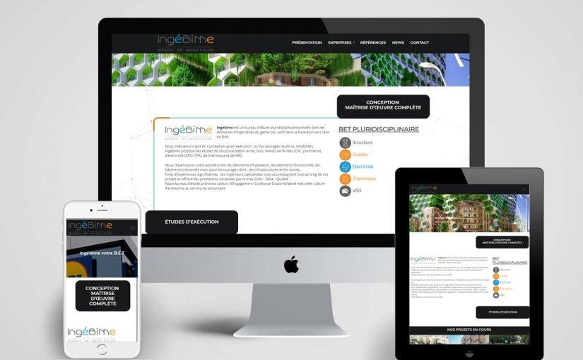 Création du site internet d'un Bureau d'étude pluridisciplinaire