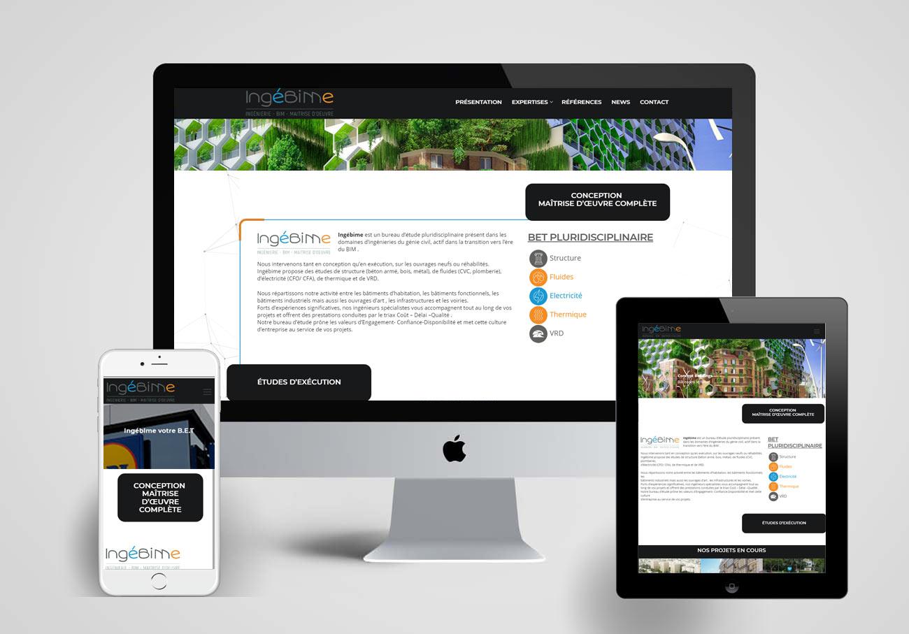 Création du site internet d un Bureau d étude pluridisciplinaire - Ajoo  Agence Web ed0804d6c8d0