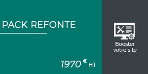 Pack refonte site web
