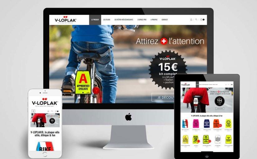 Refonte technique et graphique d'un site e-shop de plaques de vélo