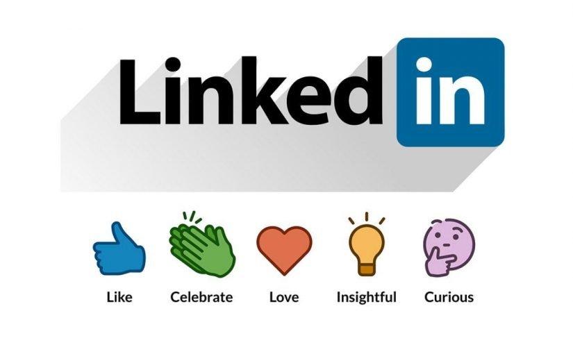 LinkedIn intègre des émojis réactions sous les publications
