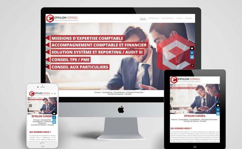 Création d'un site internet pour un cabinet d'expertise comptable et conseil