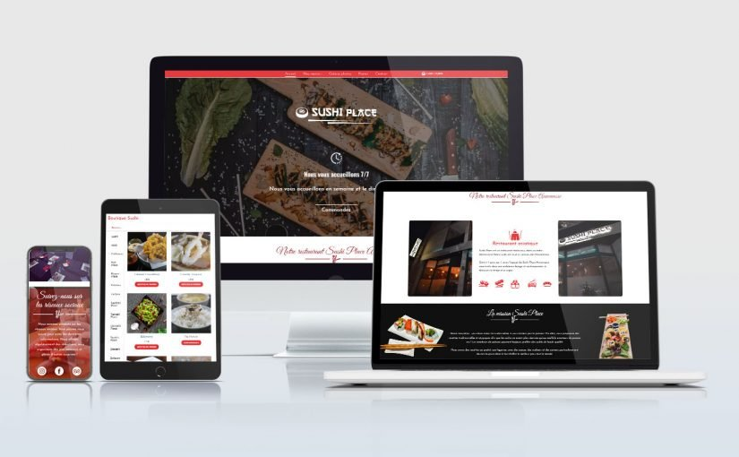 Refonte technique et graphique pour un site e-commerce de sushi