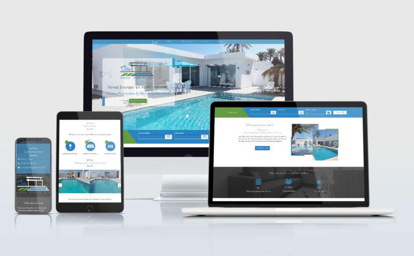 Création d'un site internet pour une agence immobilière touristique