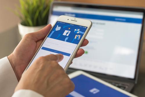 Facebook : changement du logo de l'entreprise