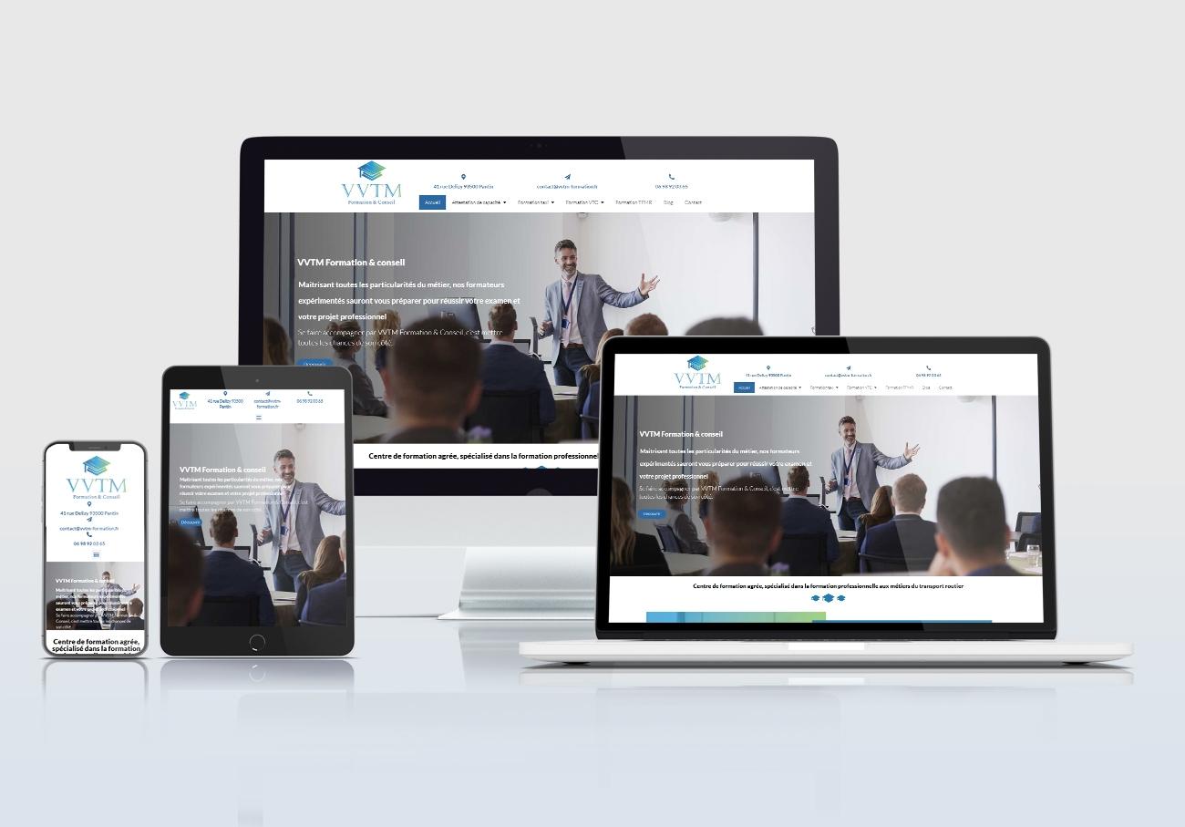 création site web paris