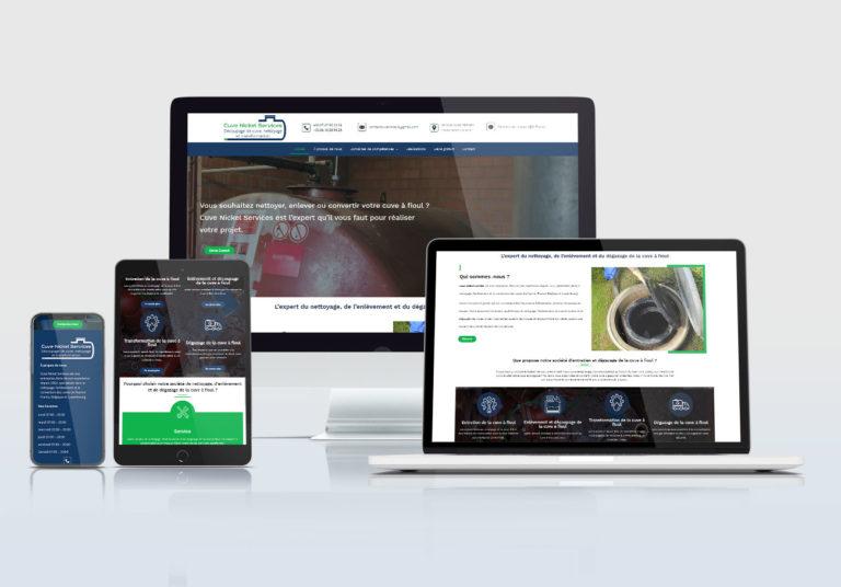 création site web pour spécialiste cuve à fioul